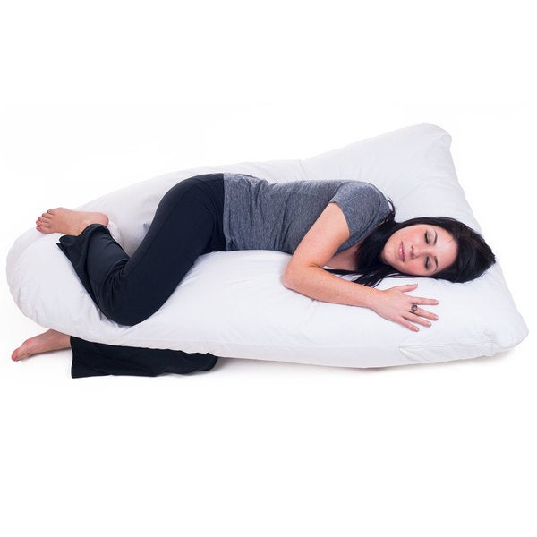 Shop Remedy Full Body Pregnancy Contour U Pillow Free