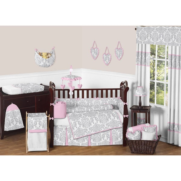 Sweet JoJo Designs Elizabeth Baby 9-piece Crib Bedding Set