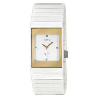 Rado Women's 'Integral' Ceramic Swiss Quartz Watch