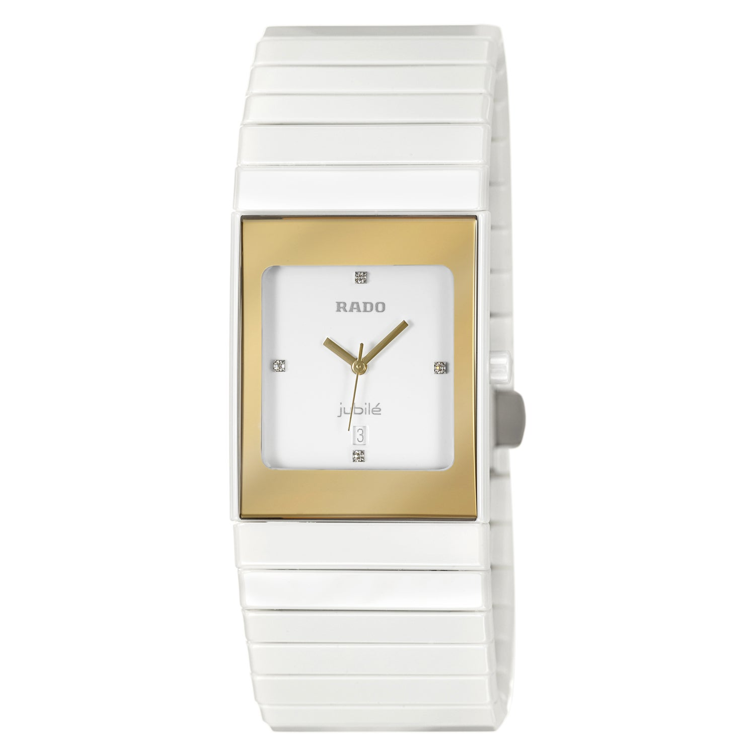 Rado Women's 'Integral' Ceramic Swiss Quartz Watch (Watch...