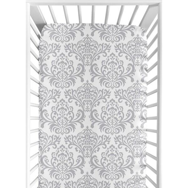 Sweet JoJo Designs Elizabeth Fitted Crib Sheet