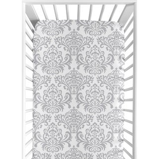 Sweet JoJo Designs Elizabeth Fitted Crib Sheet