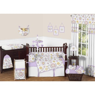 Sweet JoJo Designs Suzanna 9-piece Crib Bedding Set