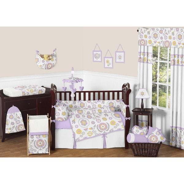 Sweet JoJo Designs Suzanna 9-piece Crib Bedding Set