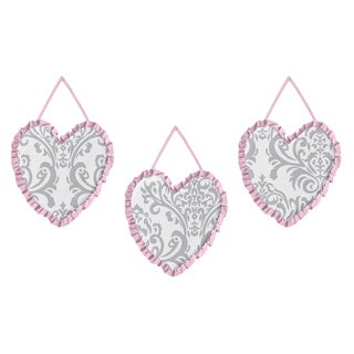 Sweet JoJo Designs Elizabeth Wall Hanging Accessories (Set of 3)