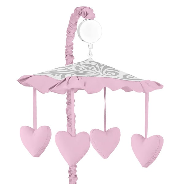 Sweet JoJo Designs Elizabeth Musical Crib Mobile