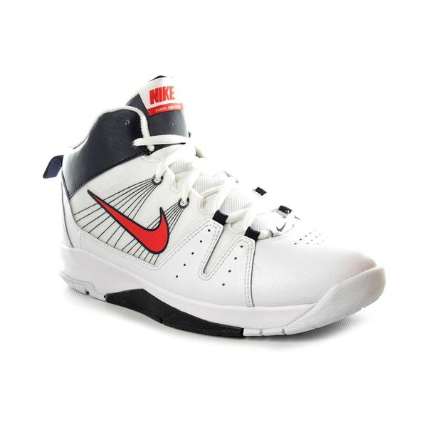 e6f515f50d9 Shop Nike Boy Youth  Air Flight Jab Step GS  Leather Athletic Shoe ...