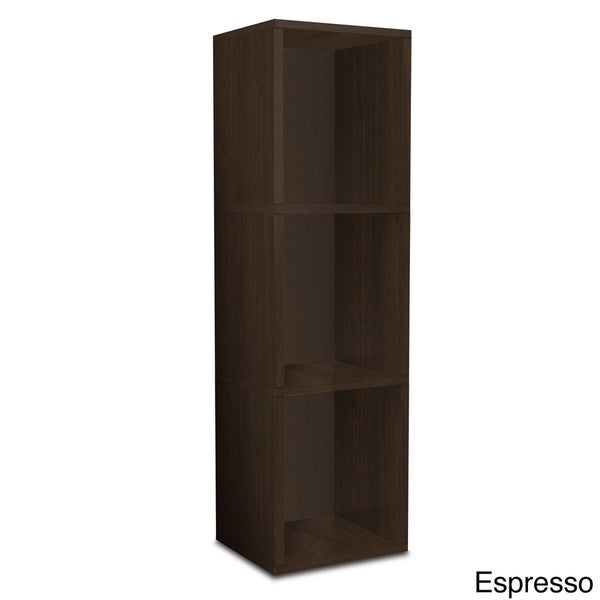 Garland Eco 3-Shelf Narrow Bookcase Storage Shelf by Way Basics LIFETIME GUARANTEE