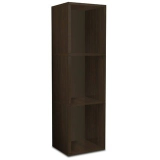 Garland Eco Friendly 3-Shelf Narrow Bookcase Storage Shelf LIFETIME WARRANTY (made from sustainable non-toxic zBoard paperboard)