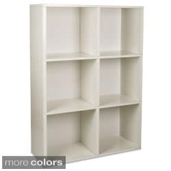 Eco Tribeca Bookcase and Storage Shelf (made from sustainable non-toxic zBoard paperboard)