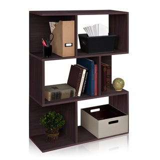 Madison Eco Friendly 3-Shelf Modern Bookcase Storage Shelf LIFETIME WARRANTY (made from sustainable non-toxic zBoard paperboard)
