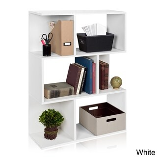 Madison Eco 3-Shelf Modern Bookcase Storage Shelf by Way Basics LIFETIME GUARANTEE