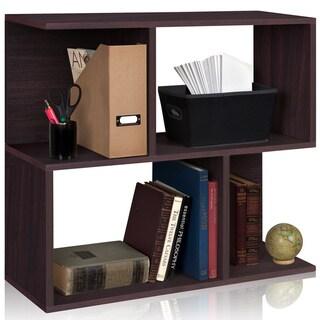 Soho Eco Friendly 2-Shelf Modern Bookcase Storage Shelf LIFETIME WARRANTY (made from sustainable non-toxic zBoard paperboard)