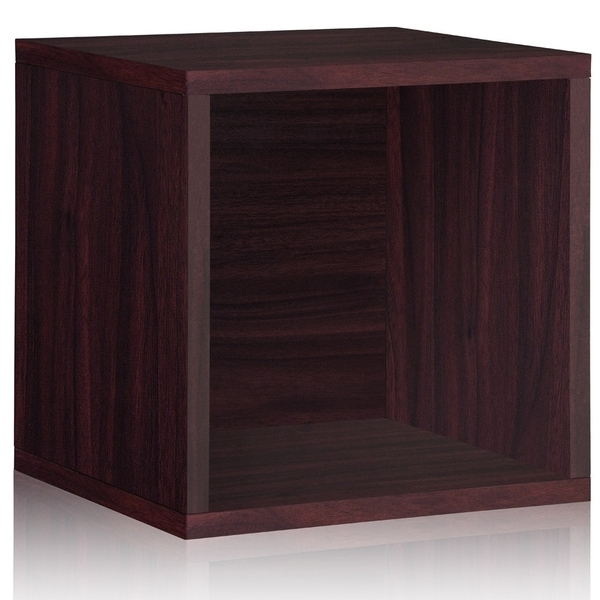 dallas eco stackable large open storage cube by way basics lifetime guarantee