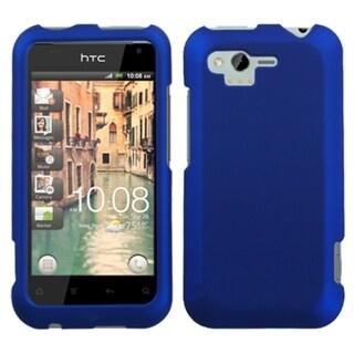 INSTEN Titanium Dark Blue Phone Case Cover for HTC ADR6330 Rhyme