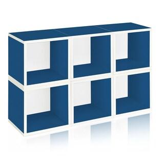 Evan Eco Stackable 6 Modular Cube Storage by Way Basics LIFETIME GUARANTEE