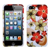 INSTEN Hibiscus Flower Romance Phone Case for Apple iPhone 5/ 5S/ SE