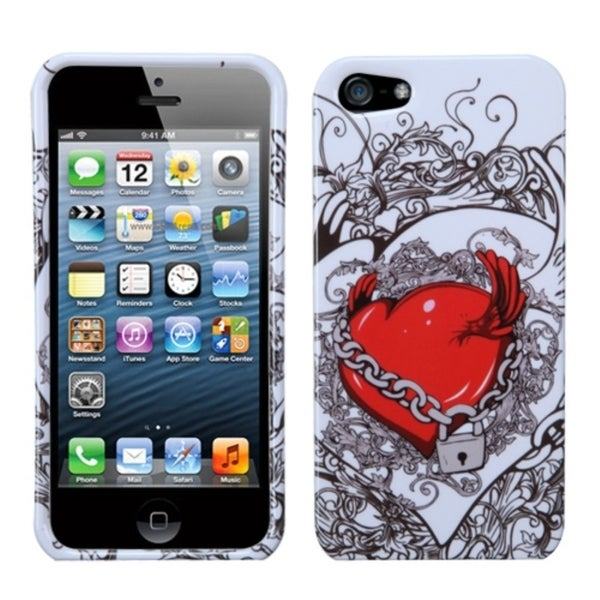 INSTEN Secret Love Phone Protector Case for Apple iPhone 5/ 5C/ 5S/ SE