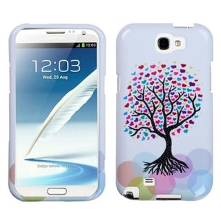INSTEN Love Tree Phone Case Cover for Samsung Galaxy Note II T889/ I605