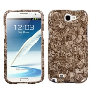 INSTEN Stone Vein Phone Case Cover for Samsung Galaxy Note II T889/ I605