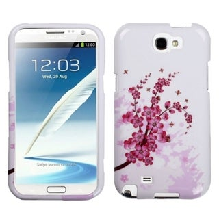 INSTEN Spring Flowers Phone Case Cover for Samsung Galaxy Note II T889/ I605