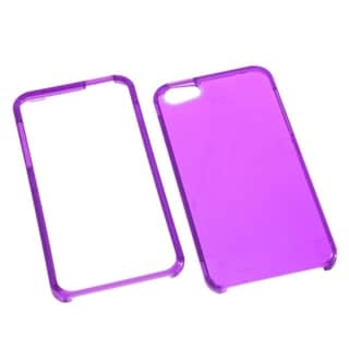INSTEN Electric Purple Phone Protector Case for Apple iPhone 5/ 5S/ SE