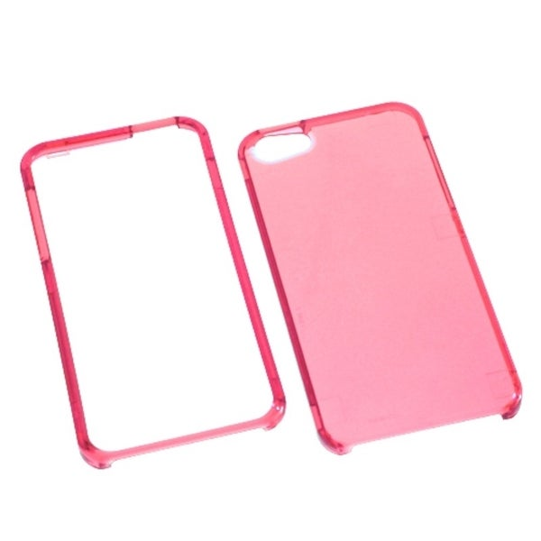 INSTEN Pink Phone Protector Case for Apple iPhone 5/ 5S/ SE