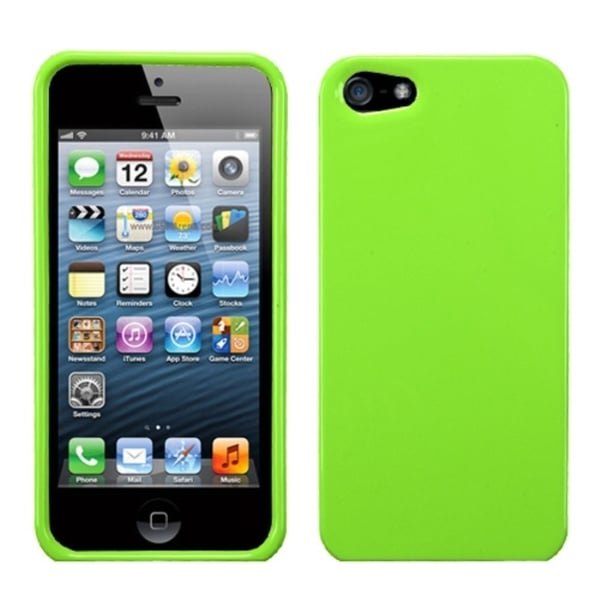 INSTEN Pearl Green Natural Phone Protector Phone Case Cover for Apple iPhone 5