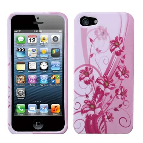 INSTEN Blooming Lily Phone Protector Case for Apple iPhone 5/ 5S/ SE