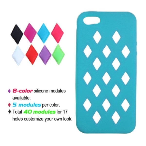 INSTEN Tropical Teal Module Skin Phone Case for Apple iPhone 5/ 5S/ SE