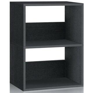 Dayton Eco 2-Shelf Bookcase and Storage Shelf by Way Basics LIFETIME GUARANTEE