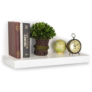 "Handmade Morgan Eco Friendly 24"" Floating Decorative Wall Shelf LIFETIME WARRANTY (made from sustainable non-"