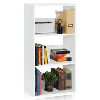 Linden Eco 3-Shelf Bookcase Modern Storage Shelf by Way Basics LIFETIME GUARANTEE