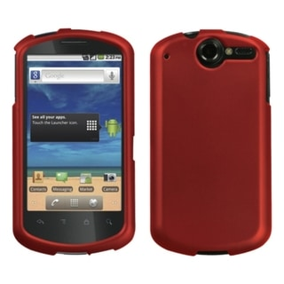 INSTEN Titanium Red Phone Case Cover for Huawei U8800 Impulse 4G