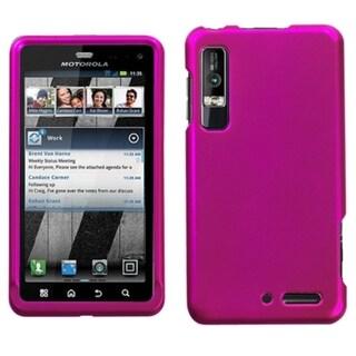 INSTEN Titanium Hot Pink Phone Case Cover for Motorola XT862 Droid 3