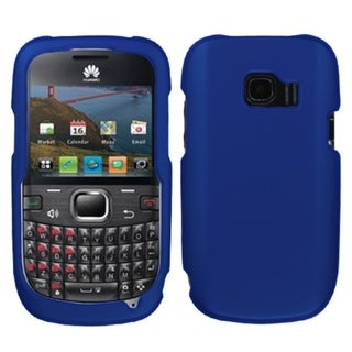 INSTEN Titanium Dark Blue Phone Case Cover for Huawei M636 Pinnacle 2