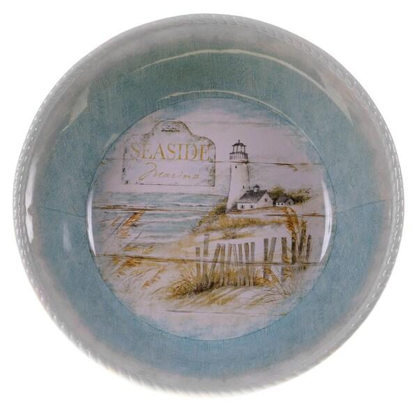 Certified International Beach Cottage Pasta/Serving Bowl