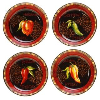 Certified International Chili Pepper Soup Pasta Bowls