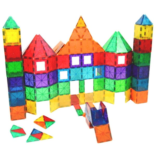 Playmags 100-piece Magnetic Blocks. Opens flyout.