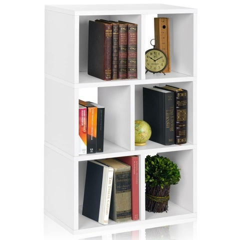 Laguna Eco 3-Shelf Bookcase Cubby Storage Shelf by Way Basics LIFETIME GUARANTEE