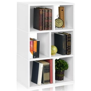 Eco 3 Shelf Laguna Bookcase and Cubby Storage (made from sustainable non-toxic zBoard paperboard)