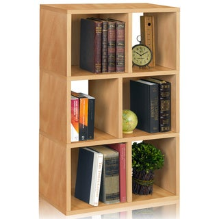 Laguna Eco Friendly 3-Shelf Bookcase Cubby Storage Shelf LIFETIME WARRANTY (made from sustainable non-toxic zBoard paperboard)