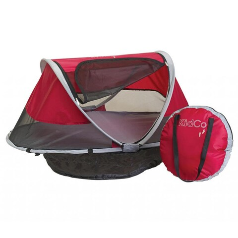 KidCo PeaPod Travel Bed in Cranberry