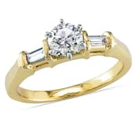 Miadora Signature Collection 14k Yellow Gold 5/8ct TDW Diamond Engagement Ring