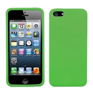 INSTEN Dark Green Solid Skin Phone Case for Apple iPhone 5/ 5S/ SE