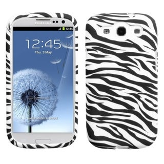 INSTEN Zebra Candy Phone Case Cover for Samsung Galaxy S III 3 i747/ L710/ T999