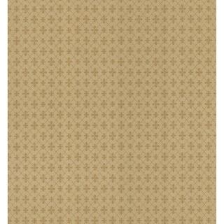 Brewster Beige Classic Pattern Wallpaper