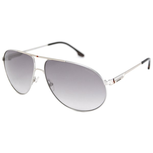 d6c19f0943 Carrera Carrera 58 Men  x27 s Silver Grey Gradient Aviator Sunglasses