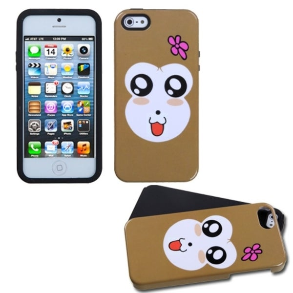 INSTEN Monkey Joy Fusion Phone Case for Apple iPhone 5 / 5S / SE