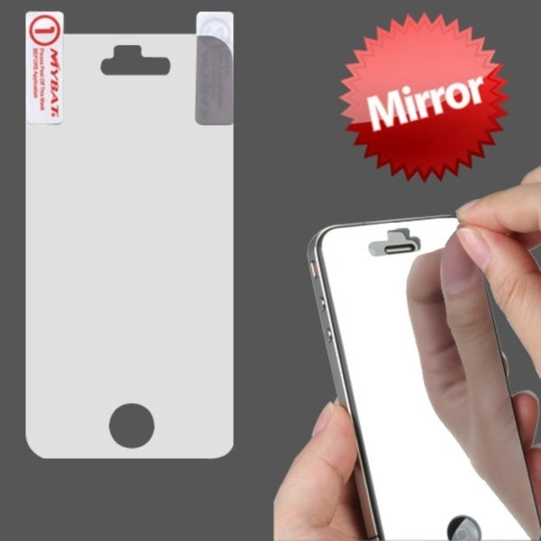 INSTEN Mirror LCD Screen Protector for Apple iPhone 4S/ 4